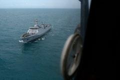 В Яванском море обнаружен хвост разбившегося аэробуса AirAsia