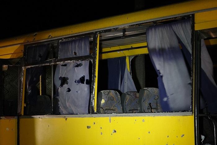 Миссия ОБСЕ отчиталась о визите на место обстрела автобуса под Волновахой