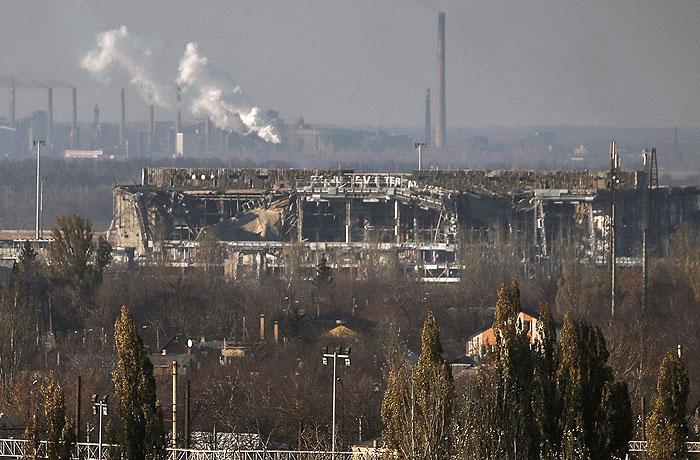 Ополченцы объявили о взятии аэропорта Донецка