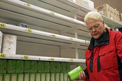 Более 60% россиян заявили о наступлении экономического кризиса в стране