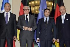 """""""Нормандская четверка"""" призвала прекратить боевые действия на Украине"""