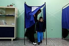 На выборах в Греции лидируют противники мер жесткой экономии