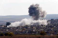 Курдские повстанцы взяли под контроль город Кобани