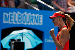 Шарапова вышла в финал Australian Open