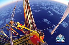Россиянин и американец завершили рекордный полет на воздушном шаре