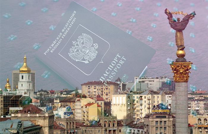 Россияне с 1 марта смогут въехать на Украину только по загранпаспорту