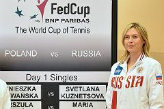 Шарапова вывела сборную России в полуфинал Кубка Федерации