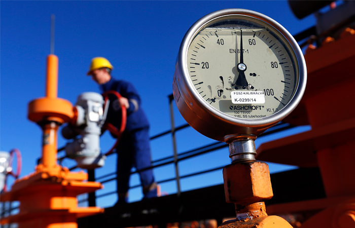 Запасы газа в Европе упали до минимума за 10 лет