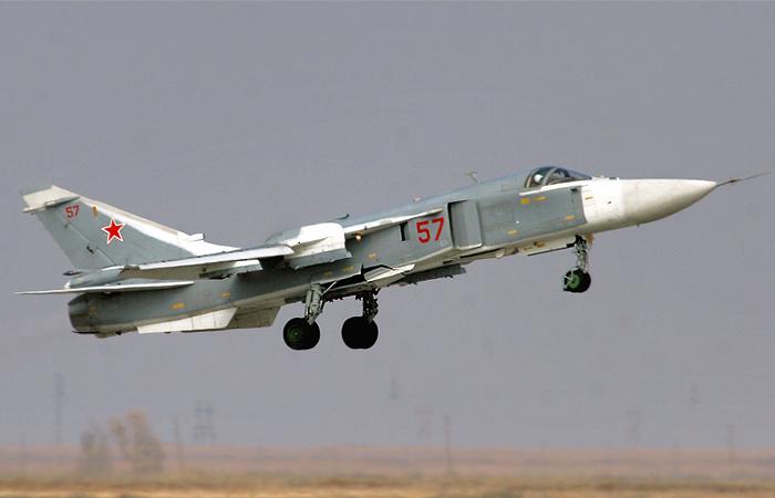 В Волгоградской области потерпел крушение Су-24