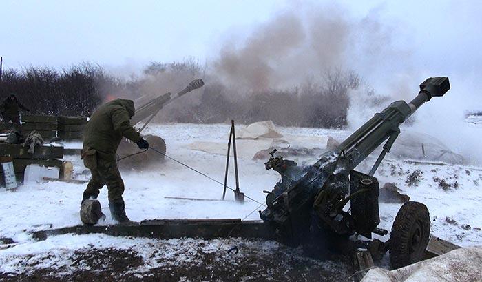 Украинские силовики сообщили о танковых боях под Дебальцево