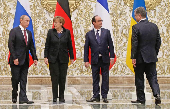"""""""Нормандская четверка"""" через неделю проверит соблюдение мира на Украине"""