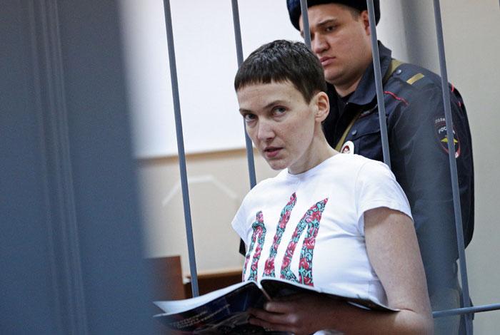 Россия не давала обещаний об освобождении летчицы Савченко