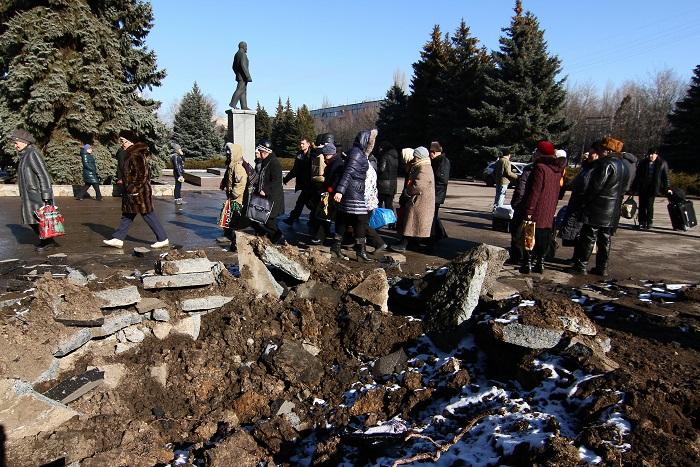 В ДНР сообщили о вытеснении украинской армии из одного микрорайона в Дебальцево