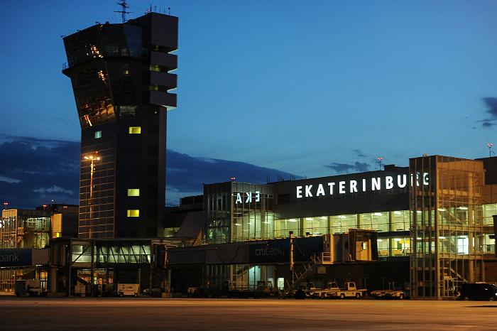 В аэропорту Екатеринбурга благополучно сел пассажирский лайнер с отказавшим двигателем