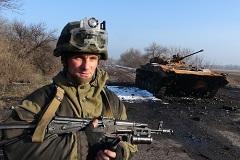 Киев признал контроль ополченцев над частью Дебальцево