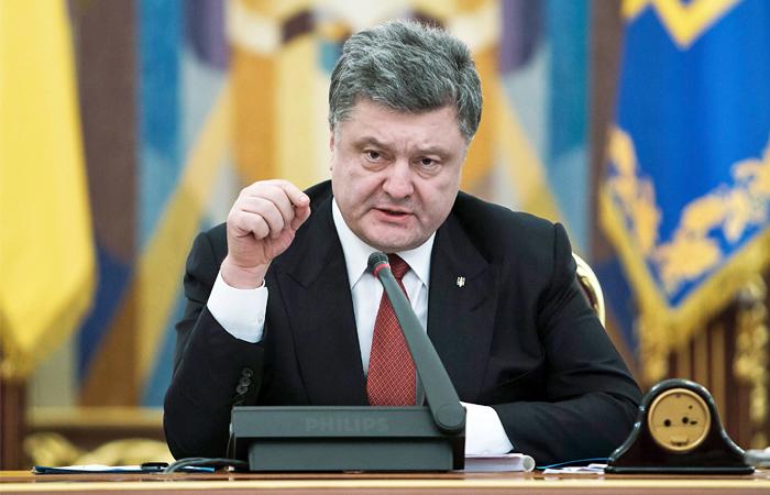 Порошенко исключил возможность участия РФ в миротворческой операции
