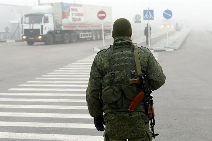 В Дебальцево доставили российский гуманитарный груз
