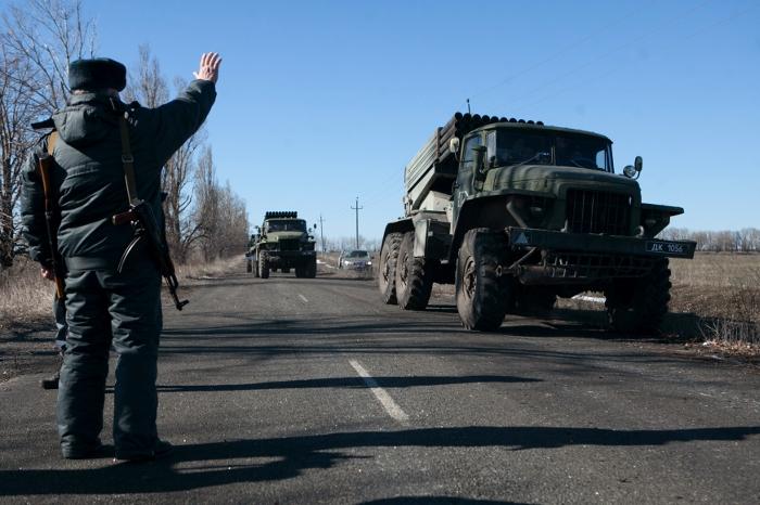 Ополченцы договорились с Украиной об отводе вооружений