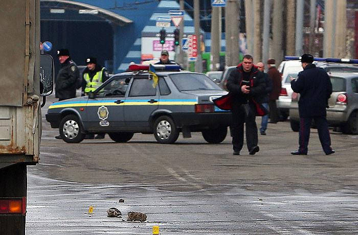 В Харькове 22 февраля была подорвана противопехотная мина