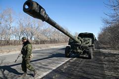 В ЛНР заявили об отводе реактивной артиллерии из района Дебальцево