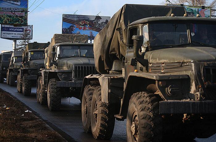 В ДНР и ЛНР заявили о завершении отвода тяжелой техники