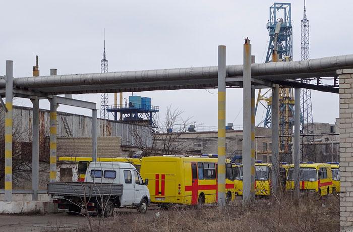 Из аварийной шахты в Донецке вывели почти 200 горняков