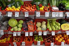 Овощи и фрукты в январе подорожали на 22%