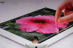 Apple решила отложить производство больших iPad