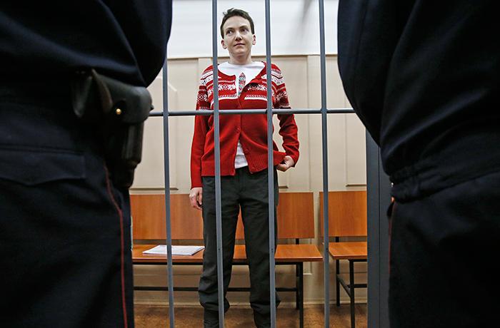 Савченко частично отказалась от голодовки