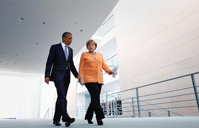 Меркель убедила Обаму не поставлять оружие украинским военным