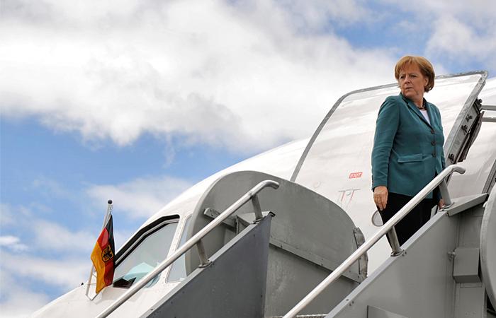 Меркель прибудет в Москву 10 мая