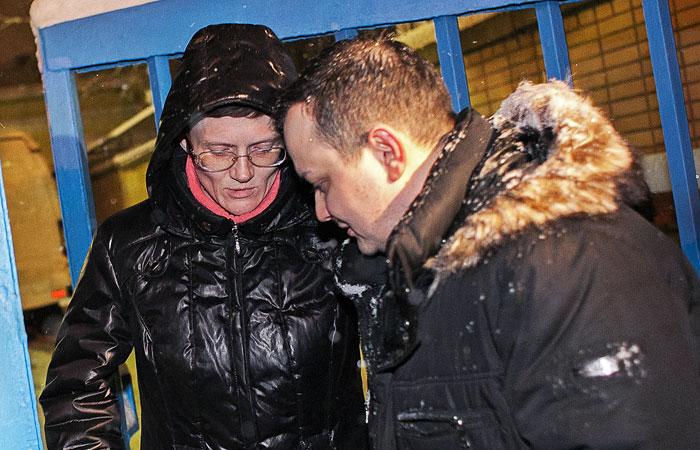 Светлана Давыдова и адвокат Сергей Бадамшин