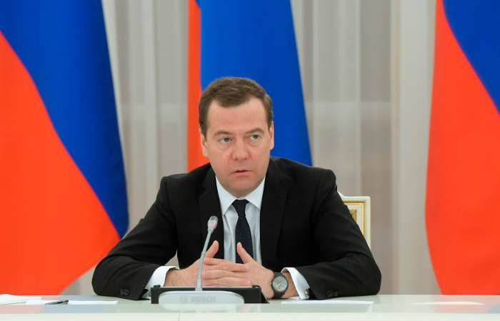Медведев проведет совещание по вопросу накопительной части пенсии в среду