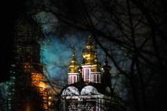 Пожар в Новодевичьем монастыре ликвидирован