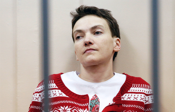 Надежда Савченко возобновила голодовку