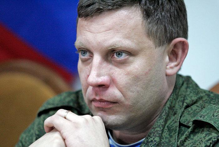Захарченко призвал взять под контроль все города-участники референдума о независимости ДНР