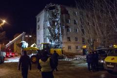В Тюмени рухнула часть пятиэтажного жилого дома