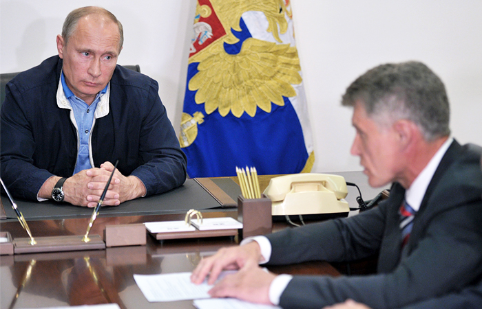 Путин назначил экс-главу Амурской области врио губернатора Сахалина