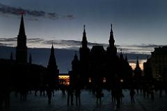 """В Кремле и на Красной площади погасили свет в рамках акции """"Час Земли"""""""