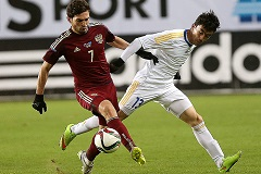 Сборные России и Казахстана по футболу сыграли вничью в товарищеском матче