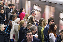 Москва по числу пассажиров метро сравнялась с крупнейшими метрополитенами мира