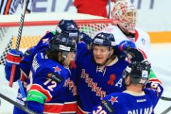 Хоккеисты СКА победили ЦСКА и вышли в финал Кубка Гагарина