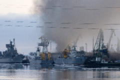 """АПЛ """"Орел"""" не получила существенных повреждений из-за пожара"""