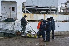 В СКР заявили об установлении причин крушения траулера в Охотском море