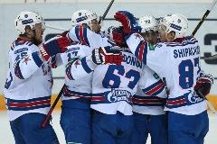 Финальная серия Кубка Гагарина началась с победы СКА в Казани