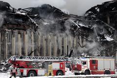 По факту пожара в библиотеке ИНИОН завели дело о халатности