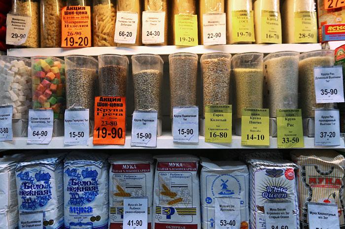 ФАС признала незаконным регулирование цен на продукты регионами