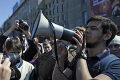 """Идеолога """"Монстрации"""" Лоскутова арестовали на десять суток"""