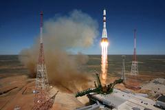 """Причиной аварии """"Прогресса"""" назвали взрыв третьей ступени ракеты-носителя"""