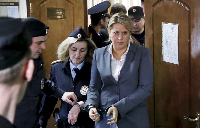 Евгения Васильева получила пять лет заключения